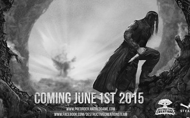 その圧倒的な暴力性で話題騒然な「Hatred」の発売日が6月1日に決定、ゲームプレイトレーラーも公開