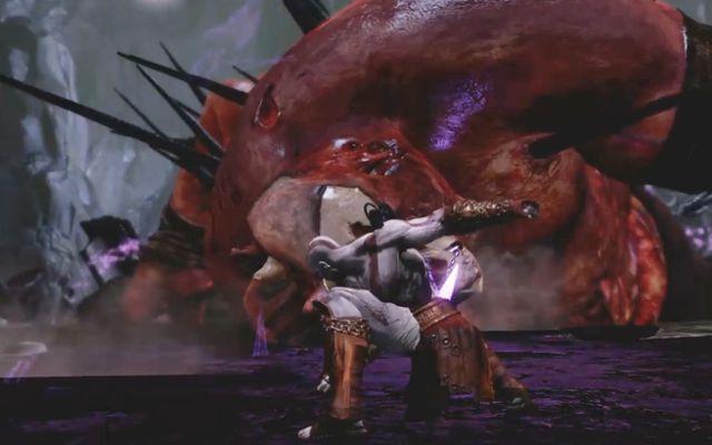 「God of War III Remastered」のクレイトスが60fpsで滑らかに動きながらボスと激しい戦闘をするゲームプレイ映像が公開