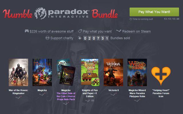 """[Humble Bundle]""""Crusader Kings II""""などParadoxタイトルを集めた「Humble Paradox Bundle」が開始"""