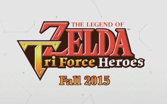 「ゼルダの伝説 トライフォース3銃士」のE3 2015でのゲームプレイ動画が公開
