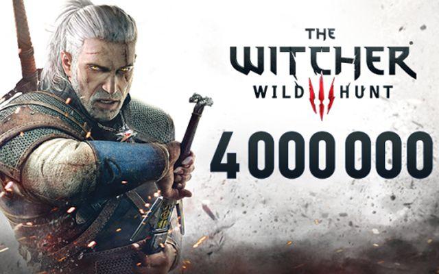 「The Witcher 3: Wild Hunt」のセールスが2週間で400万本を突破