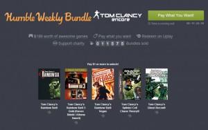 Humble Weekly Bundle: Tom Clancy Encore