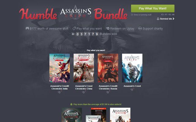 Humble Assassin's Creed Bundle