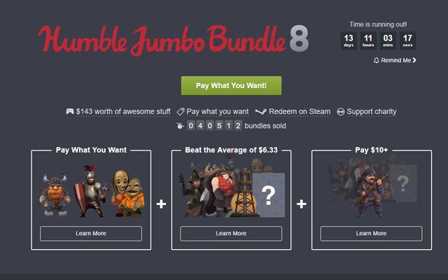 "[Humble Bundle]""Valhalla Hills""や""Warhammer: End Times – Vermintide""などを集めた「Humble Jumbo Bundle 8」が販売開始"