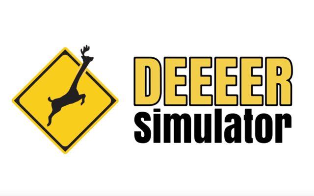 鹿シミュレーター「ごく普通の鹿のゲーム DEEEER Simulator」のSteam早期アクセスが1月21日に決定