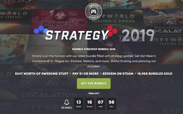 Humble Strategy Bundle