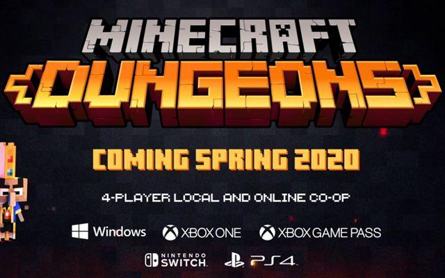 「Minecraft Dungeons」のオープニング映像が公開