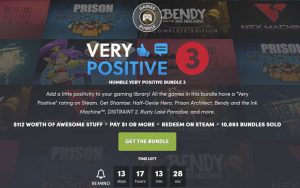 Humble Very Positive Bundle 3