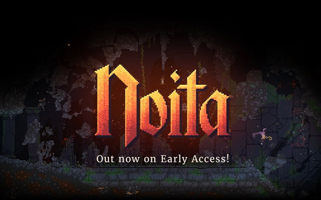 ローグライトアクション「Noita」が製品版へ移行