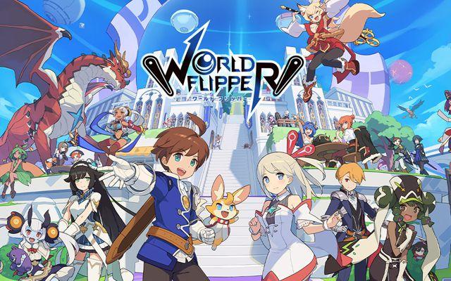 サイゲームスの新作「ワールドフリッパー」が発表