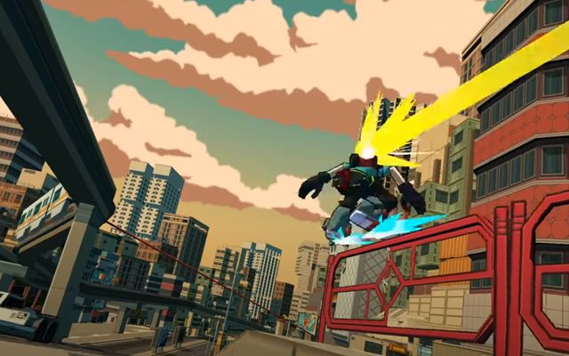 """Lethal League""を手がけた""Team Reptile""の新作アクション「Bomb Rush Cyberfunk」が発表"