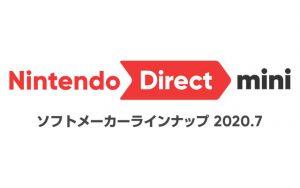 Nintendo Direct mini ソフトメーカーラインナップ 2020.7