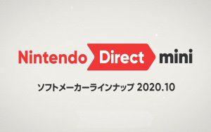 Nintendo Direct mini ソフトメーカーラインナップ 2020.10