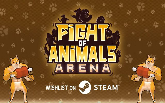 「Fight of Animals: Arena」がSteamにて配信決定