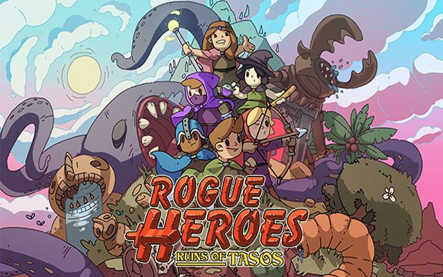 Co-op可能な2Dローグライクアクション「Rogue Heroes: Ruins of Tasos」が2月23日に配信決定