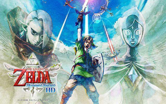 「ゼルダの伝説 スカイウォードソード HD」の発売日が7月16日に決定