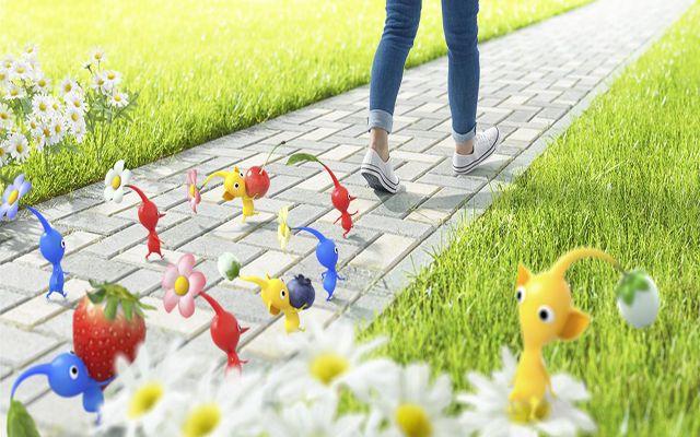 任天堂、ピクミンを起用した「歩くことを楽しくする」スマートフォンアプリをNianticと共同開発。2021年後半に配信予定