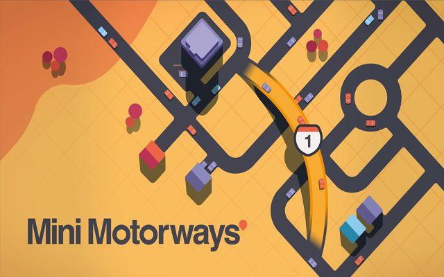 道路建設ストラテジー「Mini Motorways」のSteam版が配信開始